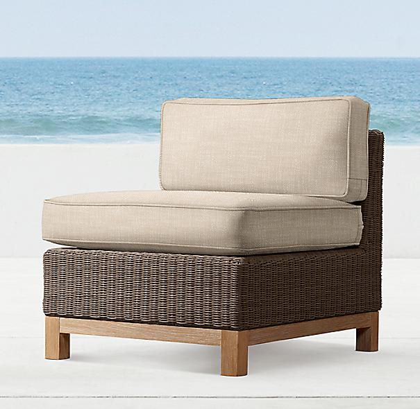 Malibu Armless Chair