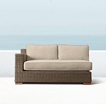 Biscayne Luxe Two-Seat Left-Arm Sofa