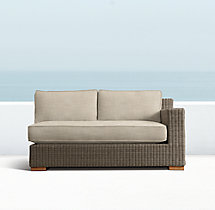 Biscayne Luxe Two-Seat Right-Arm Sofa