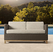 "56"" Malibu Sofa Cushions"