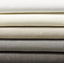 Stonewashed Belgian Linen Bedding Swatch
