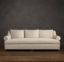 Belgian Roll Arm Upholstered Daybed