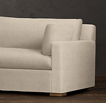 8' Belgian Track Arm Upholstered Sleeper Sofa
