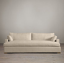 Belgian Track Arm Upholstered Daybed