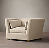 Belgian Shelter Arm Upholstered Chair