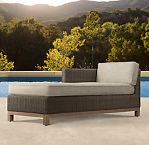Malibu Left/Right-Arm Chaise Cushions