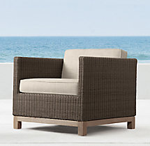 Malibu Lounge Chair Cushions