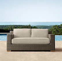 "63"" Biscayne Luxe Sofa Cushions"