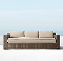 "88"" Biscayne Luxe Sofa Cushions"
