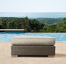 Biscayne Luxe Ottoman Cushions