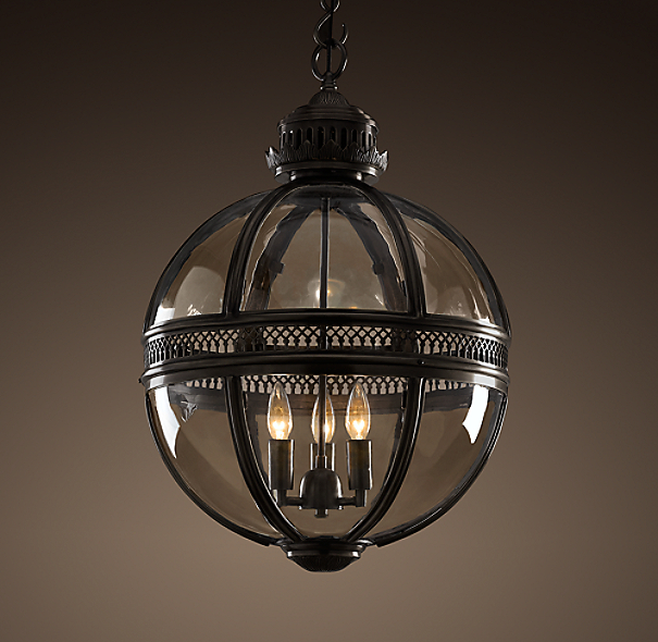 Restoration Hardware Light Fixture Sale: Victorian Hotel Pendant