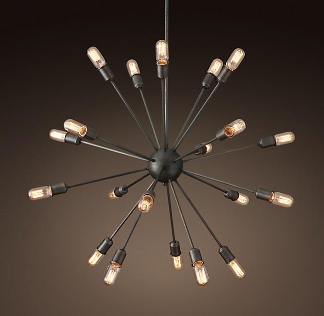 Sputnik filament chandelier 40 aloadofball Images