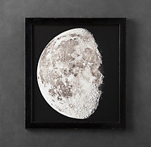 1896 Moon Photogravure Print 2