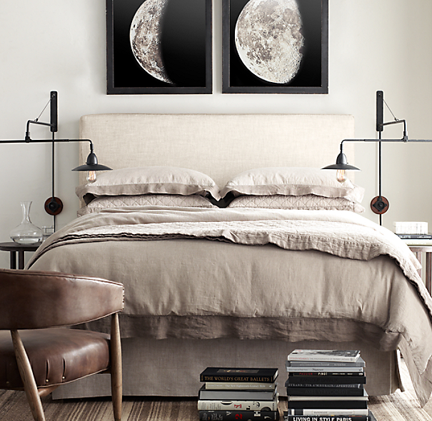 Restoration Hardware Bedroom Colors Cute Black And White Bedroom Ideas Little Boy Bedroom Furniture Girls Bedroom Colour Ideas: 1896 Moon Photogravure Prints