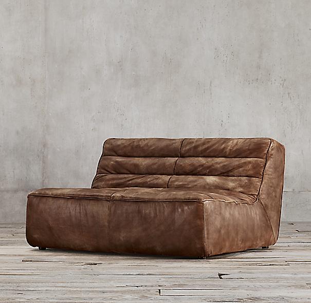 6 39 chelsea leather sofa for Chelsea leather sofa