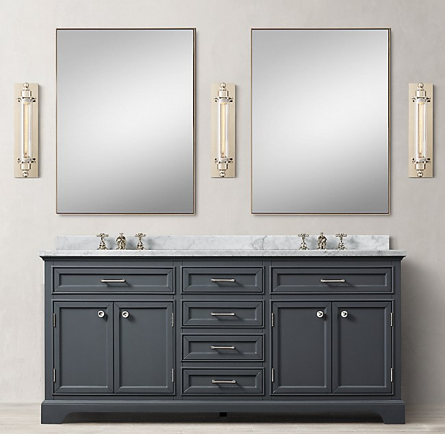 Kent Double Vanity. Kent Bathroom Vanity Restoration Hardware. Home Design Ideas