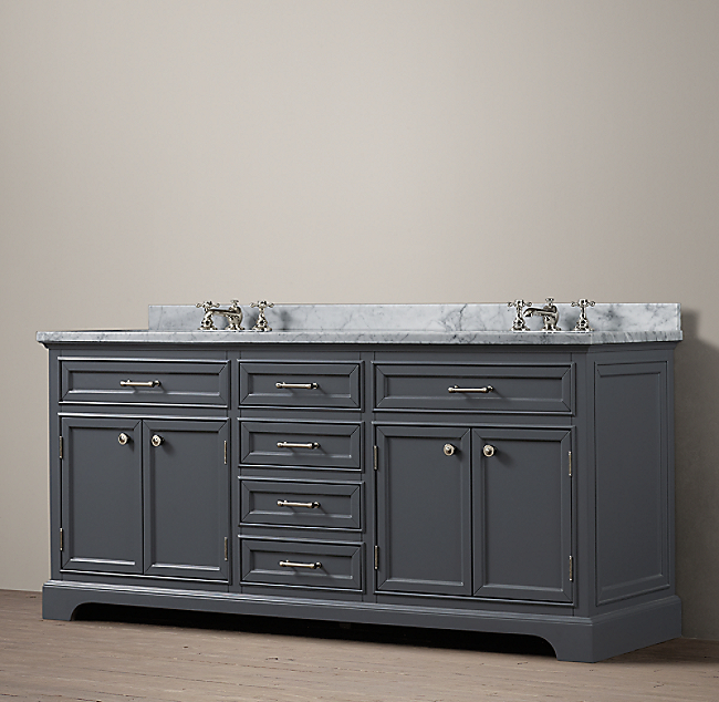 Kent Double Vanity  Click to ZoomKent Double Vanity. Kent Bathroom Vanity Restoration Hardware. Home Design Ideas