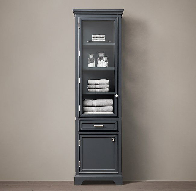 RH Kent Tall Bath Cabinet