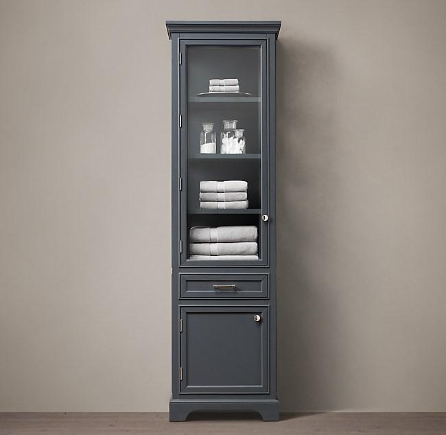 Kent 84 Bath Cabinet, Restoration Hardware Bathroom Storage