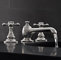 "Eaton Cross-Handle 8"" Widespread Faucet Set"