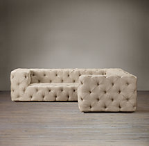 Soho Tufted Upholstered Corner Sectional