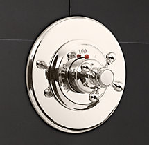Eaton Cross-Handle Thermostatic Shower Valve & Trim Set