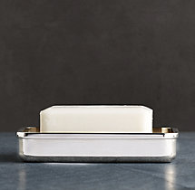 Pharmacy Metal Soap Dish