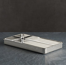 Pharmacy Metal Bath Tray