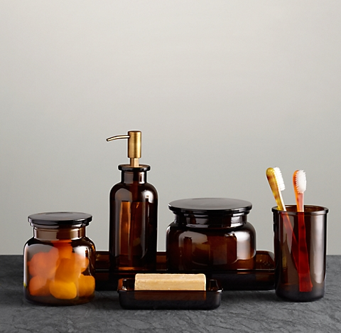 More Finishes Pharmacy Gl Bath Accessories