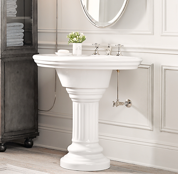 Vintage Pedestal Sink - 37?