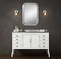 Pharmacy Extra-Wide Single Vanity Sink