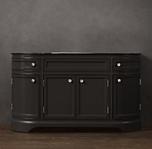 Odéon Extra-Wide Single Vanity Base