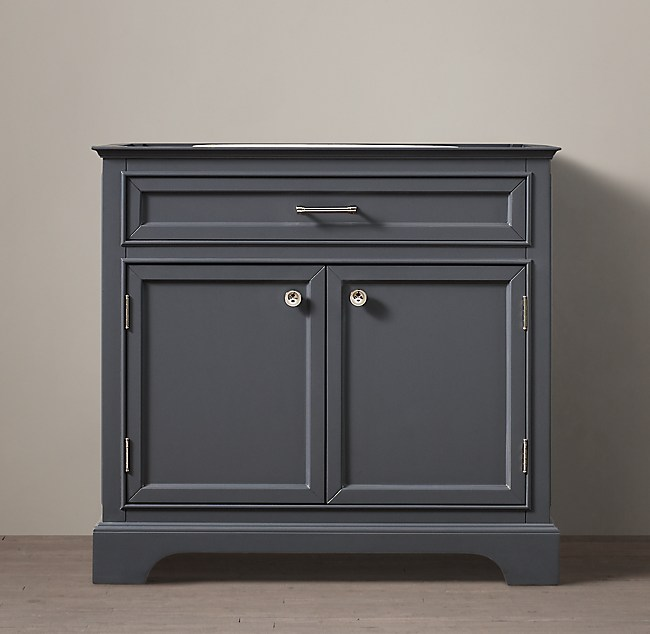 Kent Single Vanity BaseSingle Vanity Base. Kent Bathroom Vanity Restoration Hardware. Home Design Ideas