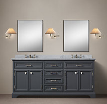 Kent Double Vanity Base