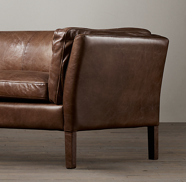6 39 Sorensen Leather Sofa