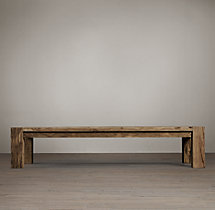 Reclaimed Russian Oak Parsons Coffee Table