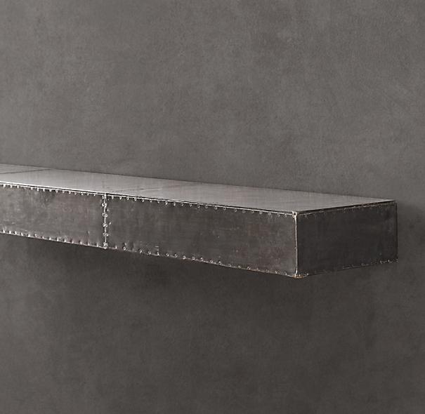 Zinc Wall Ledge Straight