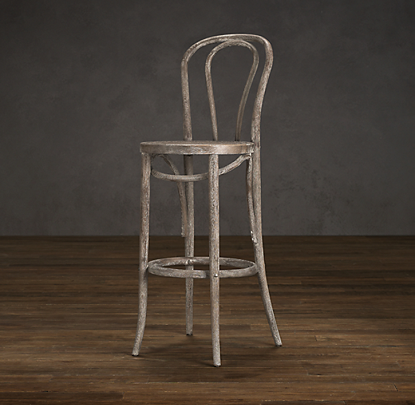 French Caf 233 Stool