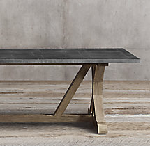 Railroad Tie Rectangular Dining Table