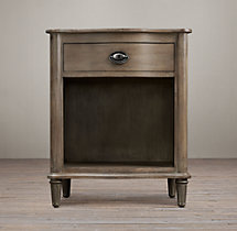 "Empire Rosette 24"" Open Nightstand"