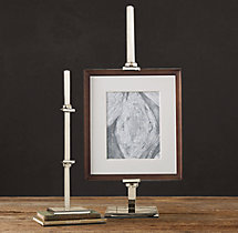 Metal Artist Easel - Polished Nickel