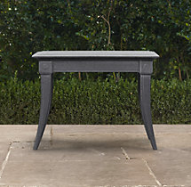 Klismos Square Side Table