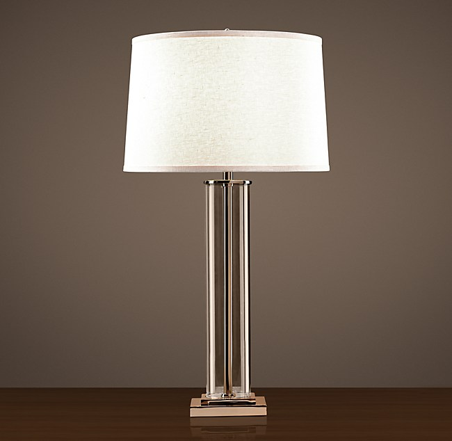 Restoration hardware table lamp for Restoration hardware bedside tables