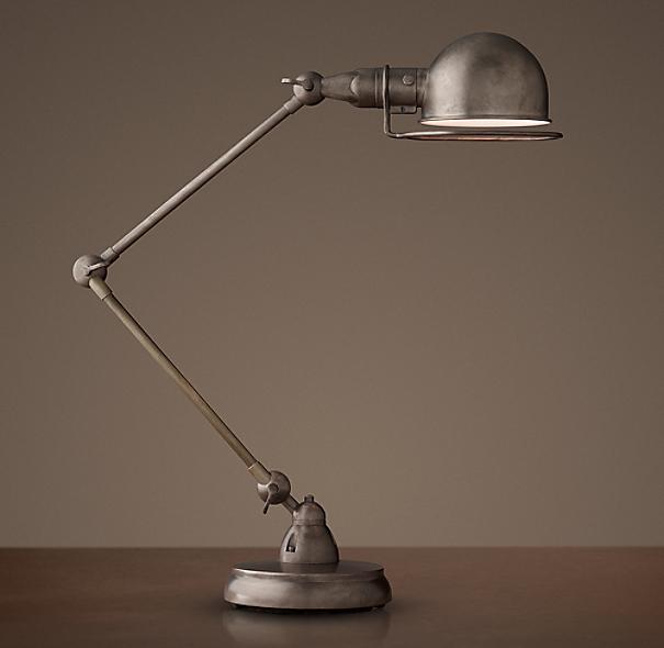 Atelier task table lamp - Restoration hardware lamps table ...