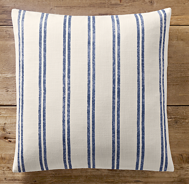 Restoration Hardware Pillows: French Ticking Stripe Pillow