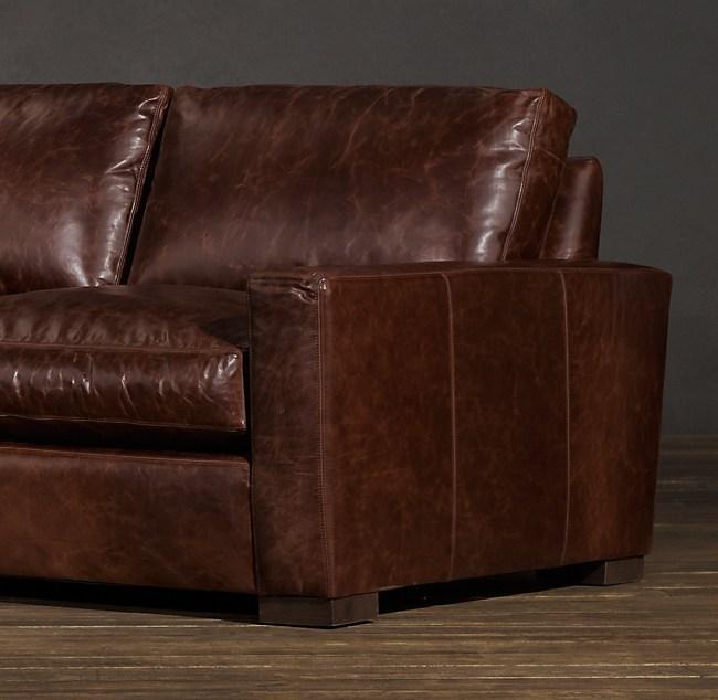 8 Maxwell Leather Sofa