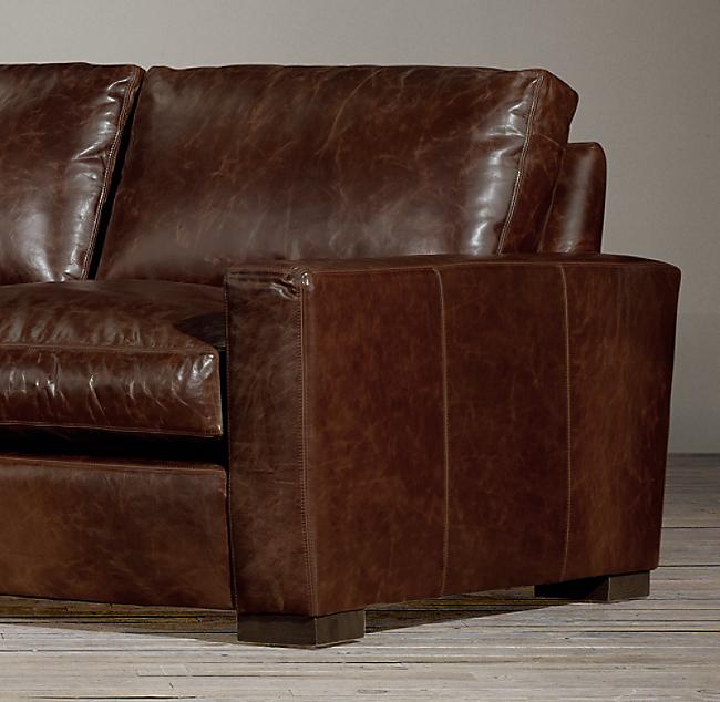 Pleasant Maxwell Leather Sofa Inzonedesignstudio Interior Chair Design Inzonedesignstudiocom