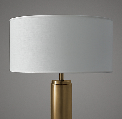b93b6214d6 French Drum Linen Shade