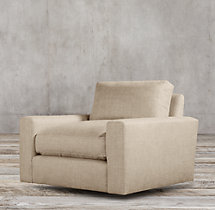 Maxwell Upholstered Swivel Chair