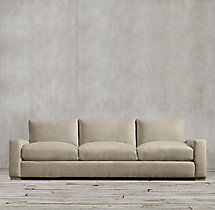 9' Maxwell Upholstered Three-Seat-Cushion Sofa